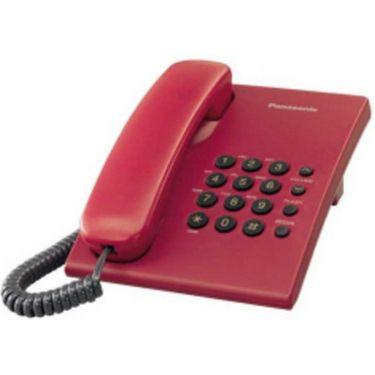 Panasonic KX-TS500  Corded Phone - Red