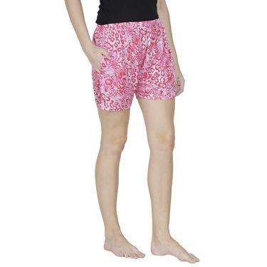 Klamotten Cotton Plain Shorts - Pink - Ks09_Tgr_Pnk