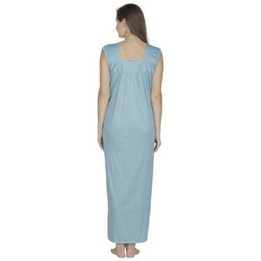 Klamotten Cotton Plain Nightwear - Light Green - X58_Sea
