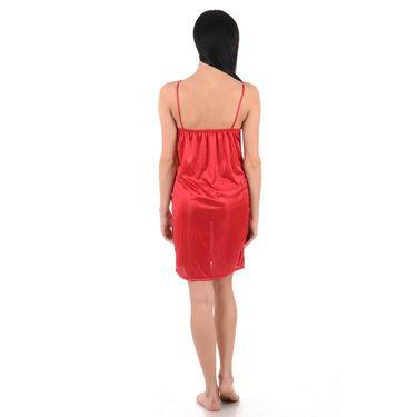 Klamotten Satin Plain Nightwear - Peach - YY129
