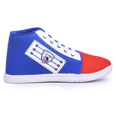 Branded Canvas Multicolor Sneaker Shoes -L13