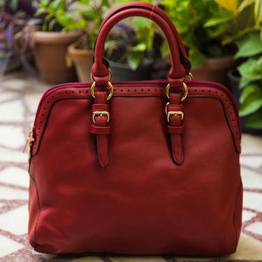 Arisha Maroon Handbag -LB 393