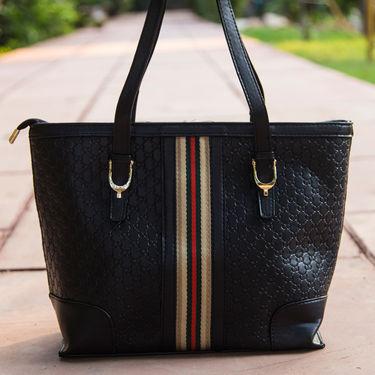 Arisha Black Handbag -LB 398