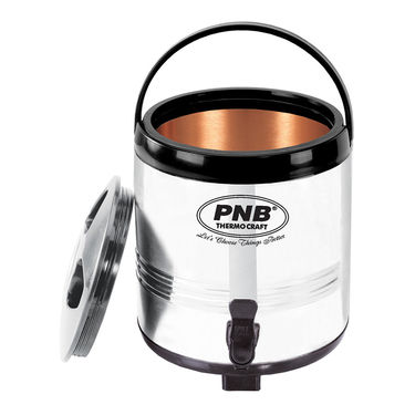 PNB Water Jug/ Camper Outer SS 6 Litre Inner Copper