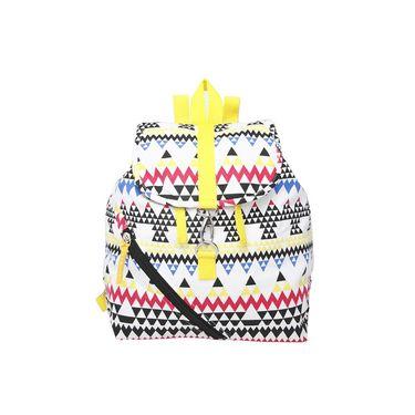 Be For Bag Canvas Backpack Multicolor -Lizbet