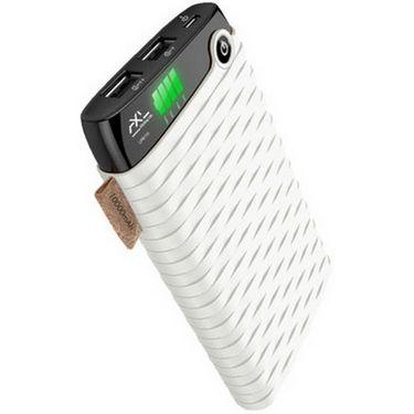 AXL LPB 110 10000 mAh portable Power Bank - White