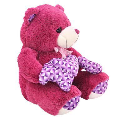 Valentine Stuff ILU Teddy Bear 50 cm - Purple