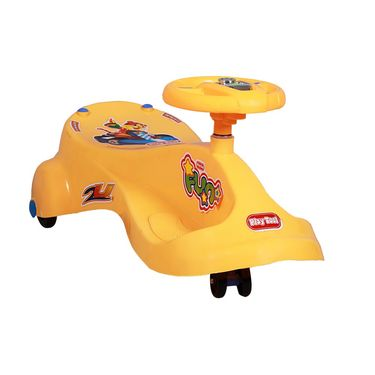 Kids Best Swing Car Orange