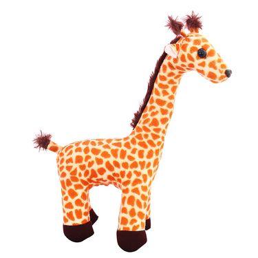 Standing Giraffe Stuff 30 Cms - Brown