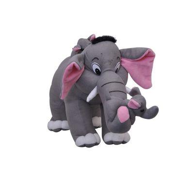Elephant Family Stuff 40 Cms - Grey