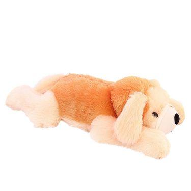 Lying Dog 70 Cms Stuff Toy - Brown