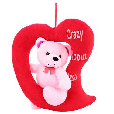 LovingHeart Bear Valentine Stuff Teddy - Pink