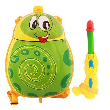 Holi Water Pichkari Back Pack Cartoon Tank Squirter F39 - Yellow