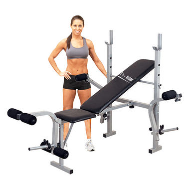 Protoner Multipurpose Weight Lifting Bench with Leg Pully & Dumbbell Fly