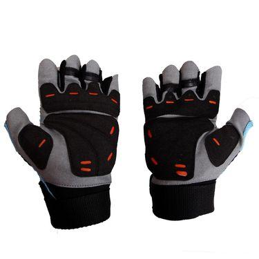 Mayor Granada Red - Black Gym Gloves  - M