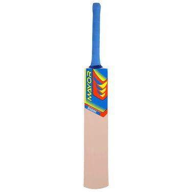 Mayor Natural Color Popular Willow Tennis Bat - 4