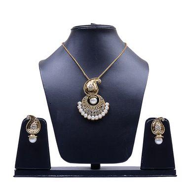 Combo Of Manukunj 2 Pearl Necklace Set - kunj-111