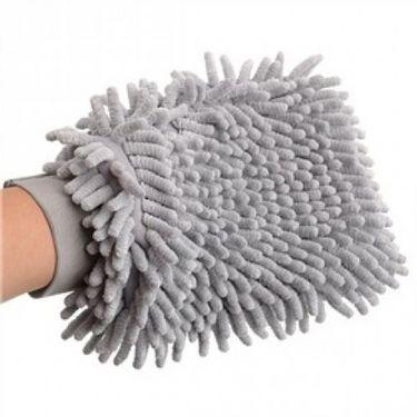 Combo of Car Duster + Wax Polish + Vacuum Cleaner + Microfiber Gloves + Car Polisher