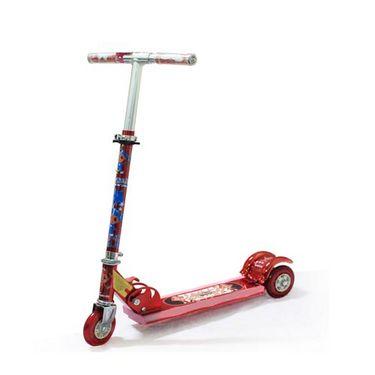 Kids 3 Wheel Foldable Mini Scooter - Adjustable Height, Bell & Brake