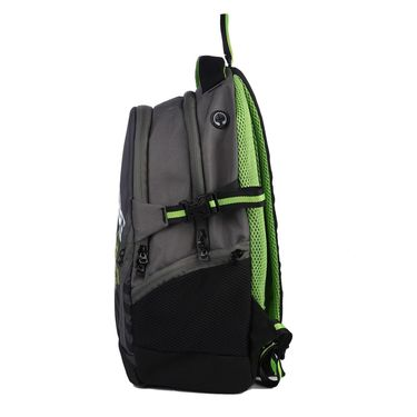 Be for Bag Poly Canvas Backpack Green -Monster