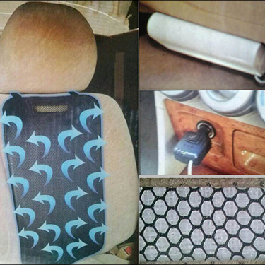 My Climate Car Seat Cushion