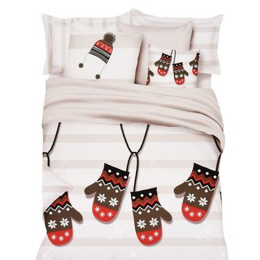 Amore Double BedSheet With 2 Pillow Cover-NBDNG20