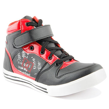 Big Wing Synthetic Leather Sneaker Shoes -130
