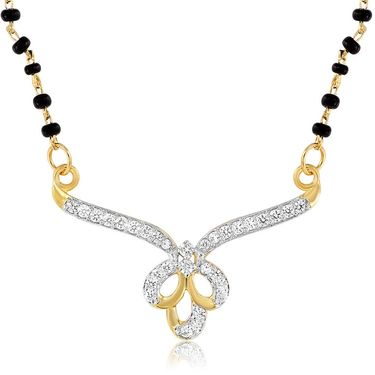 Mahi CZ Gold Plated Mangalsutra Set_Nl1101942g