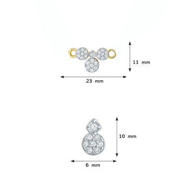 Mahi CZ Gold Plated Mangalsutra Set_Nl1106001g2