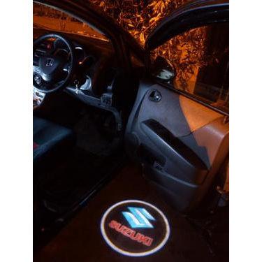 Set of 2 pcs Branded Car Door Welcome Light LED Projection Ghost Shadow Light Laser Maruti Suzuki Logo