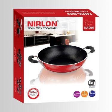 Nirlon Non Stick Classic Range Kadai 2 Ltr_NR48021