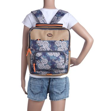 Be for Bag Canvas Backpack Blue -Nereza