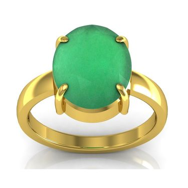 Kiara Jewellery Certified Haqiq 3.0 cts & 3.25 Ratti Green Onyx Ring_Onry