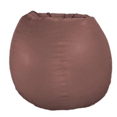 PSYGN Set of 2 Leatherette Standard Bean Bag Cover -  PBB200-BROWN_BLUE