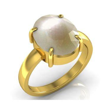 Kiara Jewellery Certified Moti 3.0 cts & 3.25 Ratti Pearl Ring_Pearlry