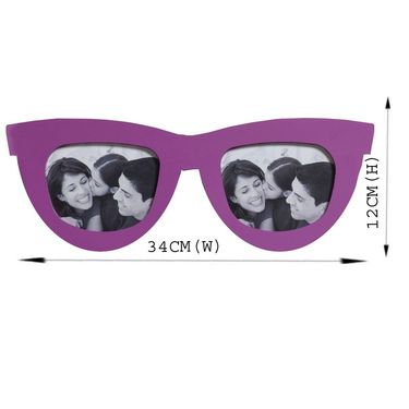 Beautiful Shades Style 2 Pictures Collage Photo Frame