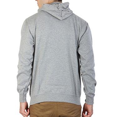 Printland Full Sleeves Cotton Hoodies_Pg1103 - Grey