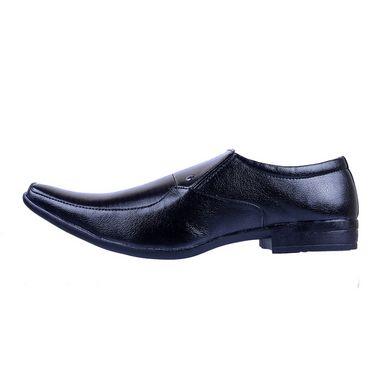 Porcupine Faux Leather Formal Shoes PN-SH-FS-BK - Black