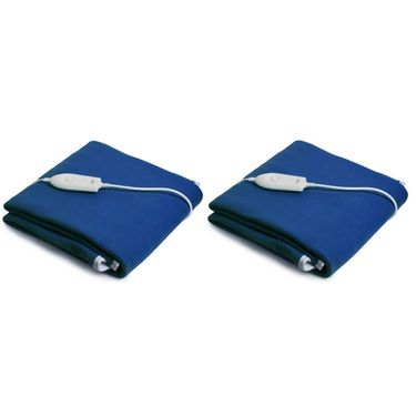 Set of 2 Expressions Polar Fleece Electric Single Blankets-POLAR07SB