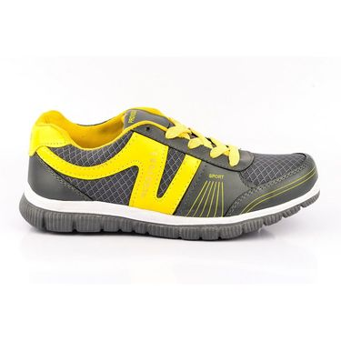 Provogue Synthetic Mesh Sports Shoes PV1065 -Dark Grey