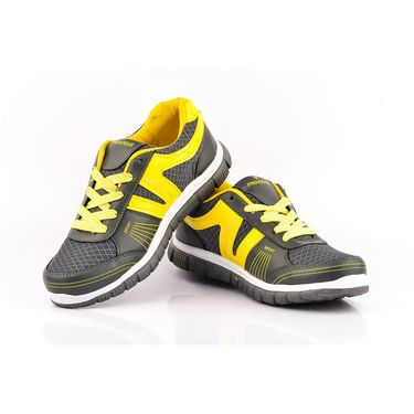 Provogue Synthetic Mesh Sports Shoes PV1062 -Yellow