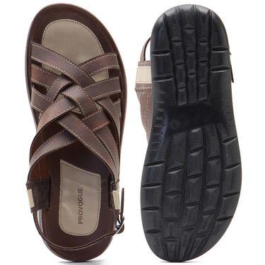 Provogue Mens Floater Sandals Pv1083-Brown