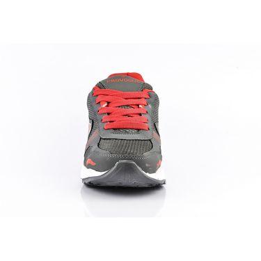 Provogue Mesh Sport Shoes Pv1095-Dk.Grey & Red-40