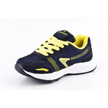 Provogue Mesh Sport Shoes Pv1095-Navy & Yellow-40