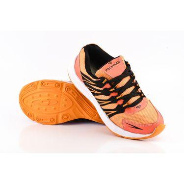 Provogue Mesh Sport Shoes Pv1096-Orange & Black-40