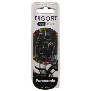 Panasonic RP-HJE125 In-Ear Canal Headphone - Black