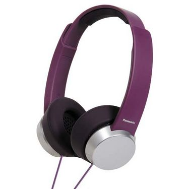 Panasonic RP-HXD3WE On-Ear Canal Headphone - Violet