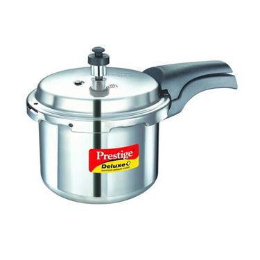 Prestige Deluxe Plus Aluminium Pressure Cooker 3 Ltr (Induction Based)