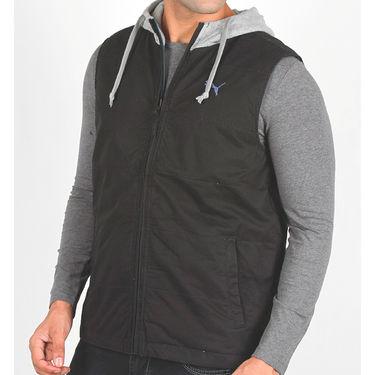 Puma Sleeveless Jacket With Hood_Puma01 - Black