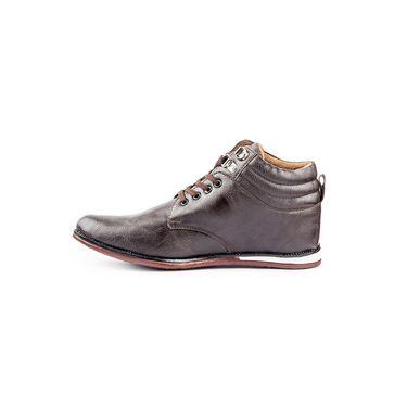 Kohinoor Footwears Faux Leather Boots RA028_Brown